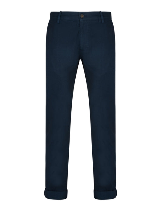 Bellfield Chento Chino Trousers Navy - chapter-clothing.com