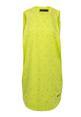 Religion Beach Vest Dress Lime Green