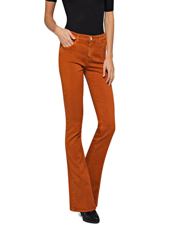 REPLAY FLARE FIT STELLA JEANS orange caramel
