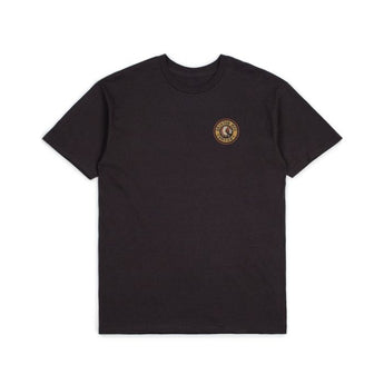 Brixton  Rival II S/S Standard Tee - Washed Black/Orange