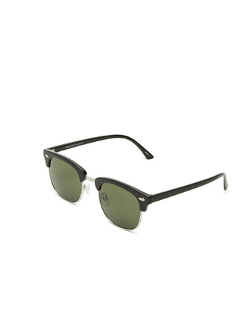Selected Homme Lyn Sunglasses Black Silver