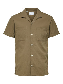 Selected Homme Declan Shirt Capers Green