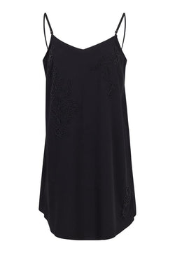 Religion  IMMACULATE SLIP DRESS JET BLACK