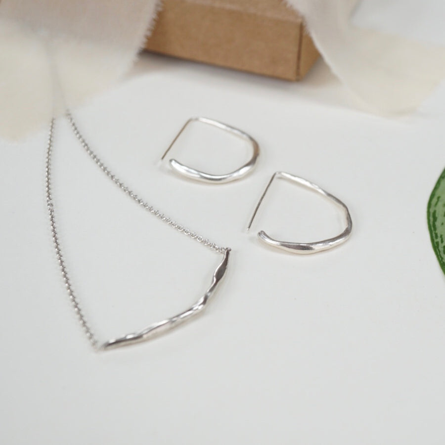 Mini Dawn Necklace & Hoops