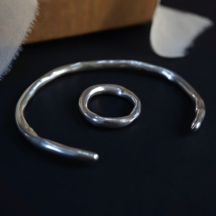 Dawn Cuff & 4.2mm Terra Band
