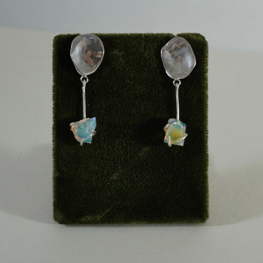 Opal MEDIUM Dangle Earrings