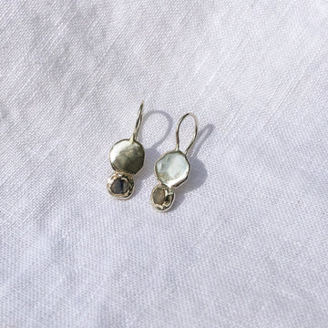 Mini Swell Drop Earrings