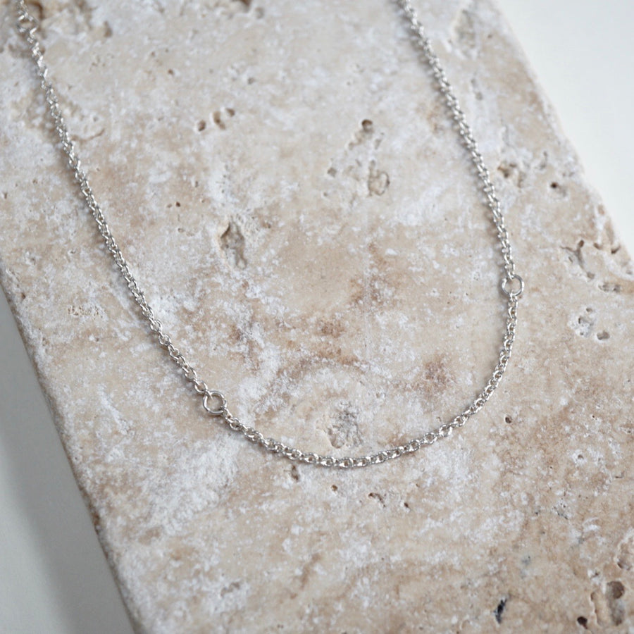 Simple Silver Chain