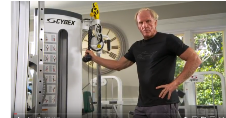 Greg Norman workout series episode 2