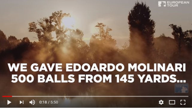 Edoardo Molinari - Tries to defy the odds