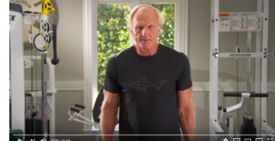 Greg Norman workout episode 6