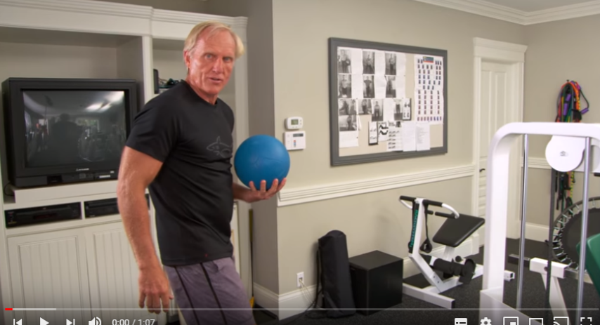 Greg Norman Fitness episode 7
