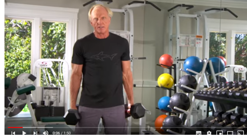 Greg Norman Fitness Episode 8