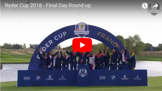Round up of the 2018 Ryder Cup