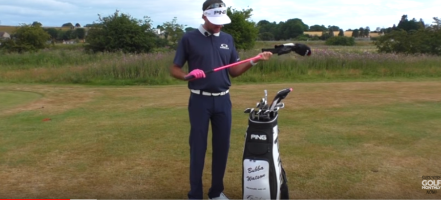 See what's in Bubba Watson's bag