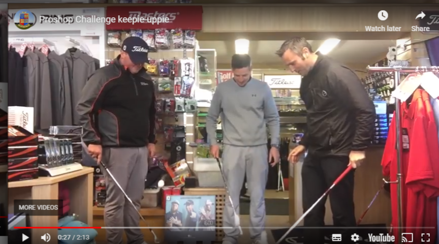 The ProShop Keepie-uppie Challenge