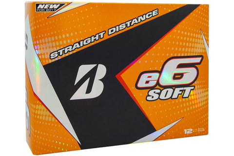 Bridgstone E6 Soft Golf Balls