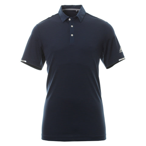 Adidas 3 Heat Stripe Polo Navy
