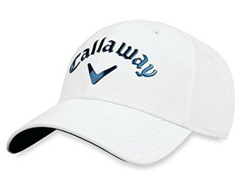 Callaway Liquid Metal Adjustable Golf Hat (White)