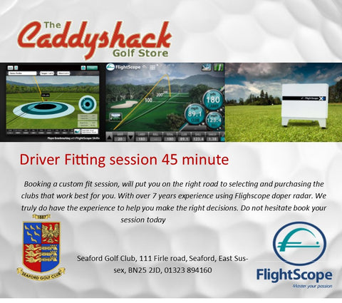 Driver Fitting session - 45 minute