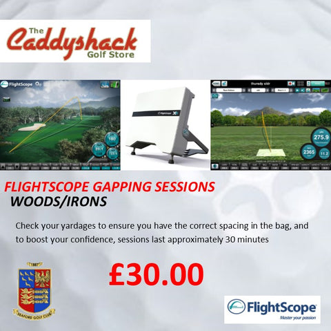 Flightscope Gapping Session Woods/Irons 30 min