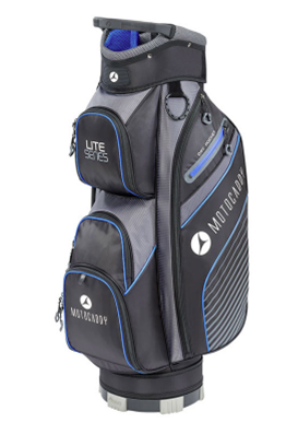 Motocaddy Lite Series Golf Cart Bag Black/Blue