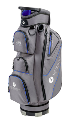 Motocaddy Club Series Golf Cart Bag Charcoal/Blue