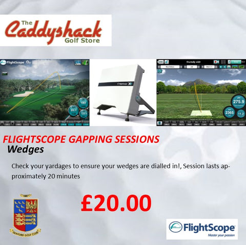 Flightscope Gapping Session Wedge 20 min