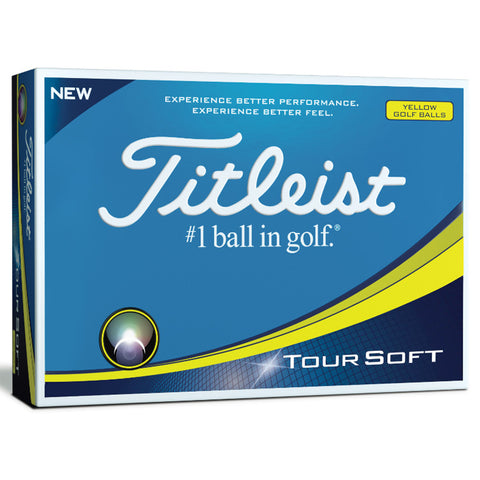 Titleist Tour Soft (yellow)