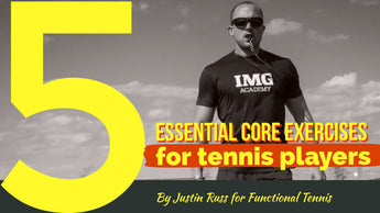 5 Essential Core Exercises for Tennis Players that require no equipment