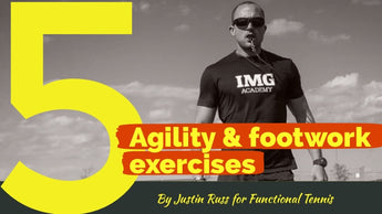 5 Agility & Footwork Drill for tennis players that need no equipment