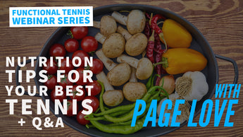 [RSVP 13] Nutrition Tips For Your Best Tennis & Q&A with Page Love
