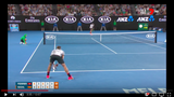 13 Minutes of Dream Tennis by Federer with Court Level View