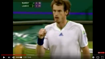 Andy Murray - Top 10 Best Grand Slam Points
