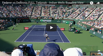 Federer Court Level, Monfils Hot Shots and more