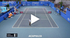 Kick Serve Goals from Tiafoe