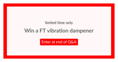 Win a Functional Tennis Vibration Dampener