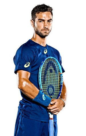 Noah Rubin - Sponsored by Asics and Head
