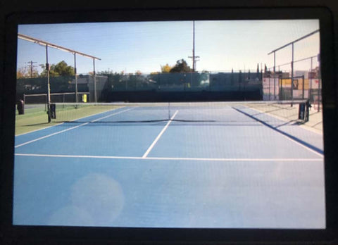 The Tennis Club Of Albuquerque's Smart Court in Albuquerque New Mexico USA