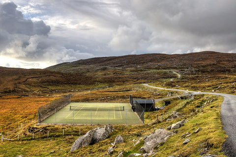 Tennis Court in Scotland