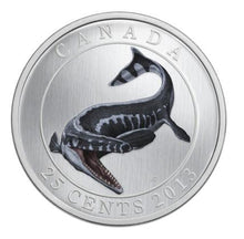 2013 Glow In The Dark Prehistoric Animals: Tylosaurus Pembinensis Coin