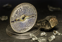 A Chance To Win Cook Islands 2013 5$ Chelyabinsk Meteorite Proof Silver Coin