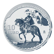 Treasures Of Spanish Musuem Rubens 10 Euros 925 Silver Proof Coin