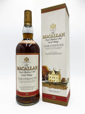 Macallan 10 Year Old Cask Strength 1 litre (58.5%)