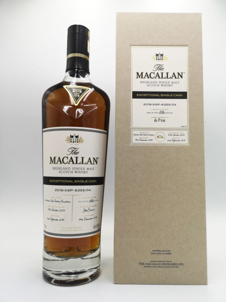 Macallan Exceptional Single Cask 4 / 2019