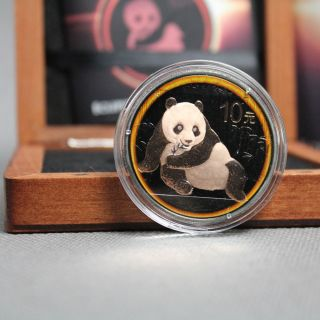 A Chance To Win China 2015 10 Yuan PandaEclipse of the Sun BU Silver Coin