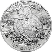 A Chance To Win $100 Fine Silver Coin – The Grizzly (2014)