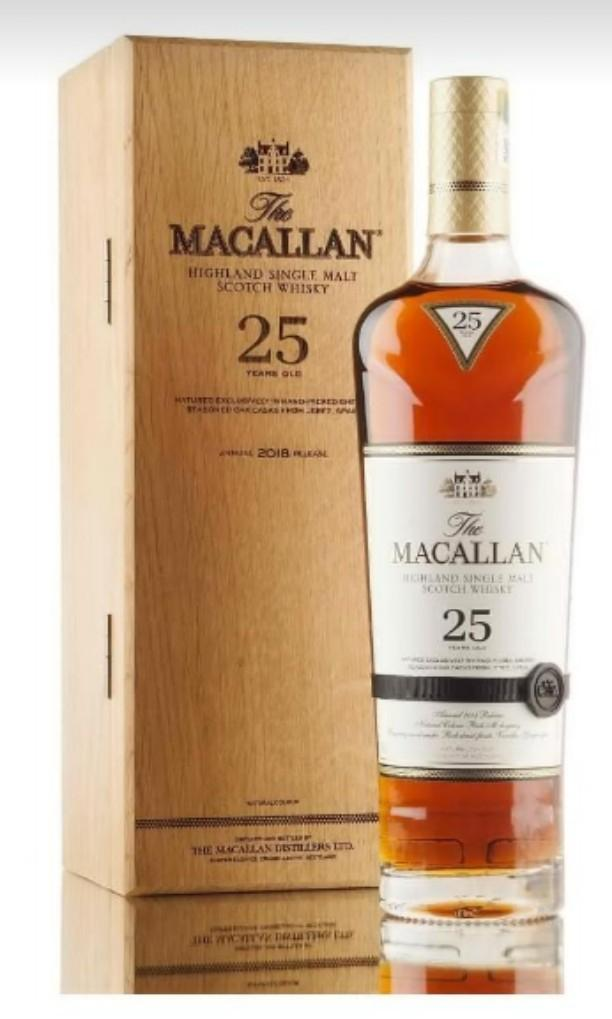 A Chance To Win Macallan 25 Years 2018