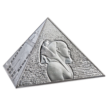 A Chance To Win Niue 2014 15$ The Great Pyramids Masterpiece of Mint Art 3 oz Proof Silver Coin
