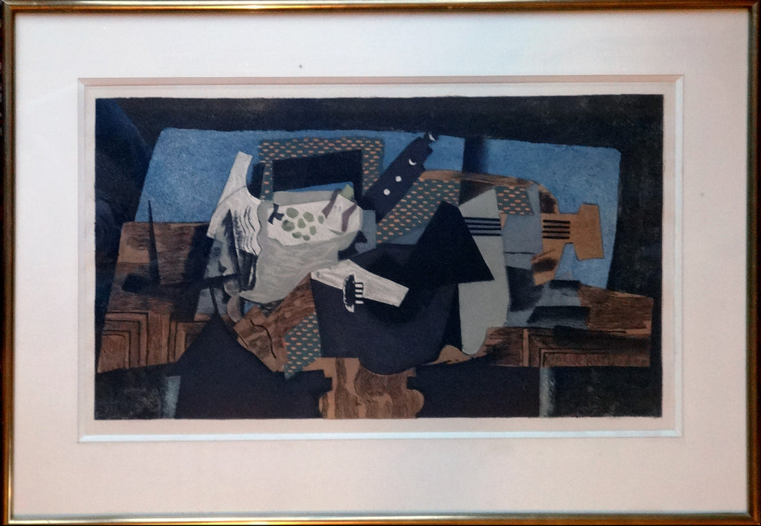Georges Visat after Georges Braque Etching (sold)